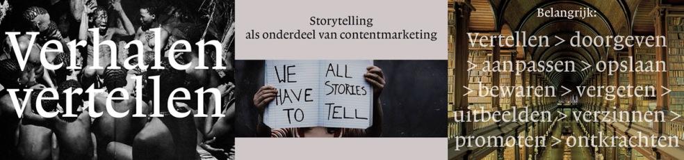 Storytelling: vertel het verhaal van jouw bedrijf